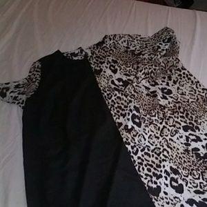 Asos Curve Color Block Dress